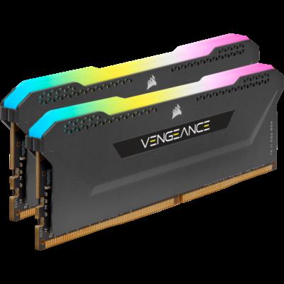 veng-rgb-pro-sl-16gb-3600 ram composants pc gaming ultraconfig.Com CORSAIR VENGEANCE RGB PRO SL 16GB 3600 NOIR/BLANC